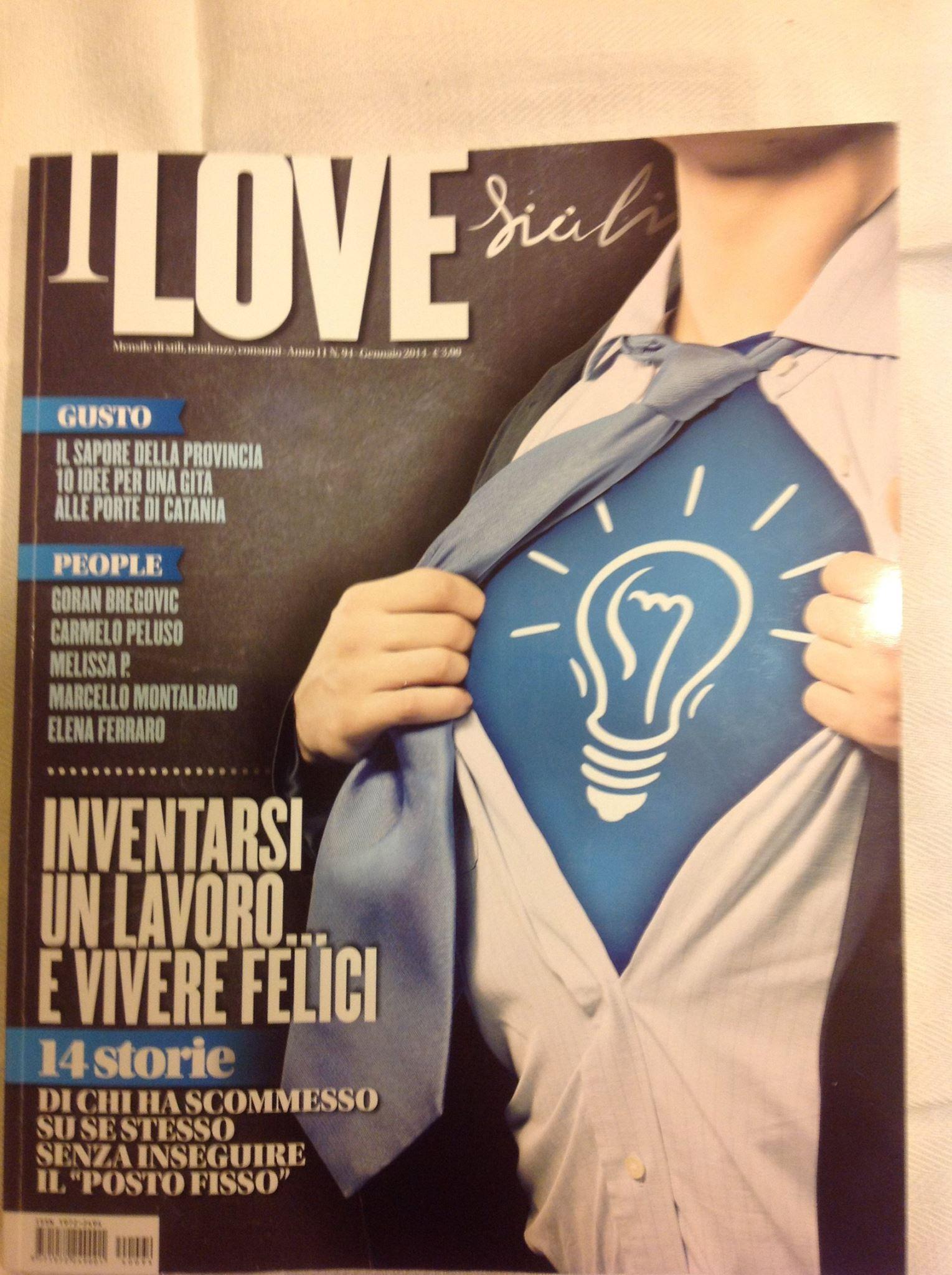 """""""I love Sicilia"""" mi dedica un articolo"""